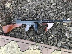 11 Tommy Gun, Wooden Gun Toy Gun Cosplay Gun Machine Gun Kelly Mafia Gun