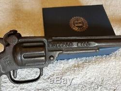 1923 Kenton Buffalo Bill Cap Gun 11.5 Long Barrel