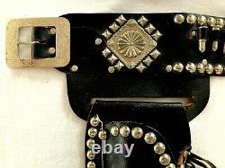 1940's Cast Iron Texan Keyston Cap Guns, Holsters & Cap Gun Belt