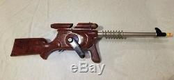 1944 IDEAL ATOMIC MACHINE GUN TOY SPACE RAYGUN VINTAGE Rare sci-fi robot prop
