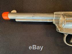1947 Nichols Silver Mustang Cap Gun Unfired Extremely Rare Original