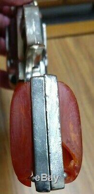 1950 Hubley Pioneer Cowboy Western Cap Gun Pistols, (2), Working and Nice