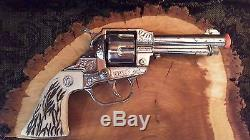 1950's CARNEL BAT MASTERSON CAP GUN / HOLSTER QUITE RARE