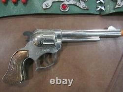 1950's Dale Evans Nudie's Style Outfit Complete with Cap Gun and Holster Rare HTF