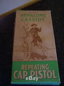 1950's Hopalong Cassidy Wyandotte Cap Gun with Original Box