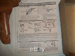1950s Vintage Mattel Fanner Shootin Shell Toy Cap Gun Holster Box Instructions