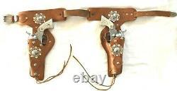 1956 Nichols 41-40 Cap Guns in Double Holsters