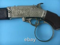 1958 Hubley TV's The RIFLEMAN Flip Special CAP GUN RIFLE Chuck Connors 32 Inch
