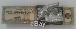 1958 Mattel Shootin' Shell Buckle Gun