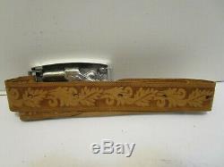 1958 Mattel Shootin Shell Remington Derringer Buckle Gun Western Belt Set Nib