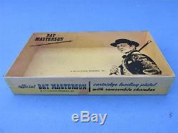 1959 Carnell Bat Masterson Cap Gun Revolving Cylinder With Exc. Repro. Box