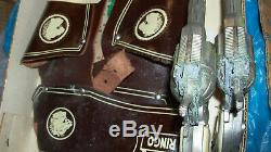 1959 JOHNNY RINGO TV Show Gun & Holster Leather withtag IN ORIG BOX JUST FOUND