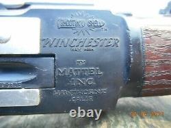 1959 Mattel Winchester lever action rifle long ranger shootin shell toy cap gun