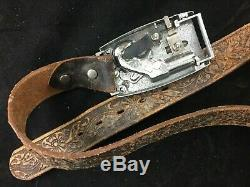 1959 Remington Derringer 1867 Cap Gun Toy by Mattel Leather Buckaroo Belt Buckle