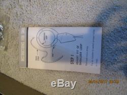 1960 Mattel Snub Nose 38 And Shoulder Holster Cap Gun Store Stock Mib Unused