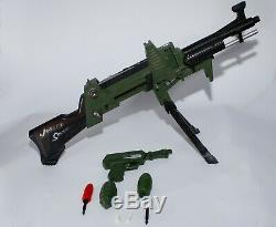 1960'S TOPPER TOYS JOHNNY SEVEN OMA TOY GUN With ORIGINAL BULLETS AND GRENADES