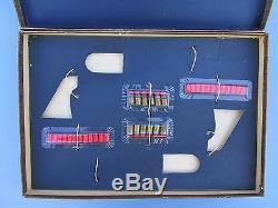 1961 Nichols CIVIL War Heirloom Dueling Set Gold Model 61 Cap Guns