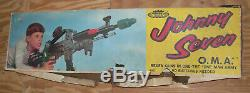 1964 Johnny Seven Oma 7 Guns In One Topper Toys With Original Box