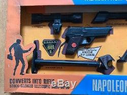 1965 Ideal Toy Man From UNCLE Napoleon Solo Gun Kit Rare