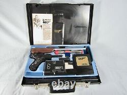 1965 James Bond 007 Secret Agent Attache Case Nearly Complete Toy Gun
