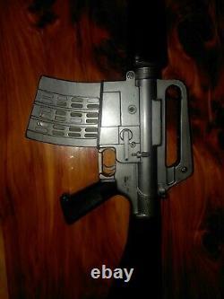 1966 Mattel Toy M-16 Gun Original Toy Solid Plastic Great Condition