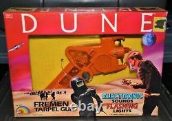 1984 Dune movie Fremen Tarpel Electronic Gun MIB vintage LJN toy NEW David Lynch
