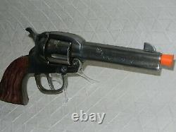 1st Model KILGORE Big Horn Cap Gun, Cast Iron cylinder. POLISHED! HTF RARE