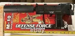 (2) Daisy Defence Force M-10 Machine Pistol #8234 &Toy Gun Durham The Automatics