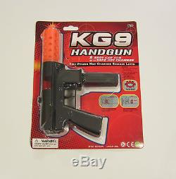 3 New Kg9 Handguns Toy Cap Gun 9 Police Pistol Detective Fires 8 Ring Caps