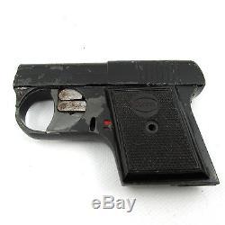 60s 007 BOND ELECTA PISTOLA GUN ONE BLANK SHOTS 6.35mm VINTAGE beretta browning