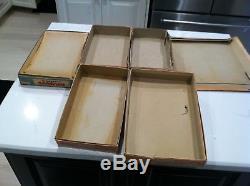 6 VINTAGE EMPTY boxes for different Lone Ranger Cap Gun Sets
