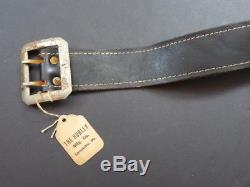 ALL ORIGINAL HUBLEY COLT 45 MODEL 1861 CAP GUN WITH HOLSTER (LOT #4) 1950's