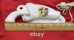 Aladdin Hopalong Cassidy Lamp Hoppy Gun Holster William Boyd Nightlight 20-J