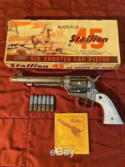 Another Nichols 45 Stallion Cap Gun MK1 in Great Condition with the Original Box