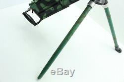 Antique MARX TOY Camo 50 Cal. Machine Gun RAT-TAT-TAT Works! PLEASE READ