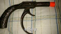 Antique Stevens Long Trigger Cast Iron Cap Gun