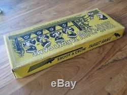 Antique Toy Shoot A Crow Target Game Complete with Daisy Cork Gun