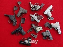 Antique & Vintage Cast Iron Cap Gun Collection