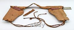 Antique c1940's ROY ROGERS COWBOY Holster, Bullets, Cap Gun Pistols Set Boxed
