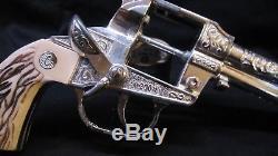 Antique die cast cap gun 1950-1960 Bat Masterson the 200