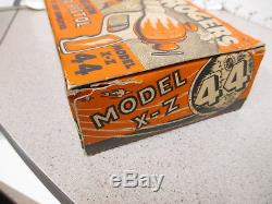 BUCK ROGERS Daisy 1930s liquid helium pistol ORIG BOX space gun rocket robot toy