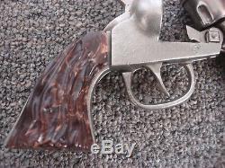 Big Horn-Roy Rogers Cast Iron Toy Cap Gun Kilgore 1940 Era