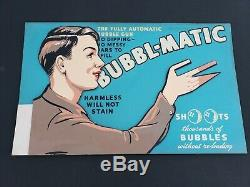 Bubbl-matic Bubble Gun Display. Kenner (1947)