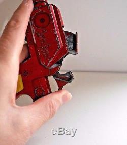 CAPTAIN SCARLET LONE STAR PISTOL RAY CAP GUN 1960s GERRY ANDERSON VINTAGE