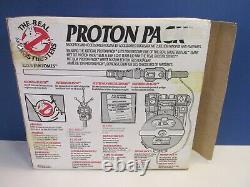 COMPLETE vintage GHOSTBUSTERS PROTON PACK GUN TOY original KENNER PKE METER