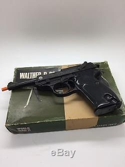 Cap Prop Starter Pistol Toy Gun Walther P38 Nakata WWII rare Vintage Japan