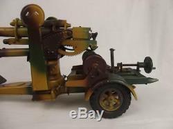 Circa 1938/9 Lineol Model No. 1230 Flak 36 88mm Anti Aircraft Gun Tin Plate Model
