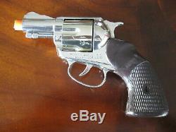 Complete Mattel Shootin' Shell Snub-Nose. 38 Cap Gun Detective Set Excellent+++
