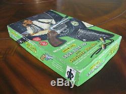 Complete Mattel Shootin' Shell Snub-Nose. 38 Cap Gun Detective Set withBox Nice