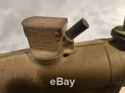 Conastoga Big Bang Cast Iron Anti-Aircraft Carbide Cannon Toy Gun Vintage